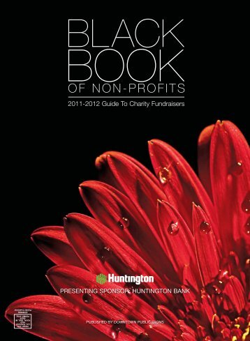 BLACK BOOK OF NON-PROFITS - Downtown Birmingham/Bloomfield