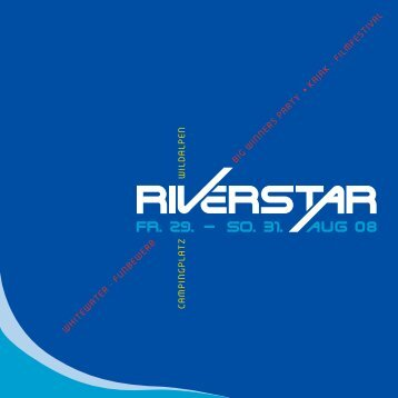 DOWNLOAD Flyer Riverstar 2008 - networx.at