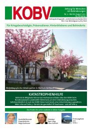 Wenn Zeitung nicht zustellbar, bitte neue ... - KOBV Steiermark