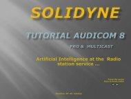 Tutorial Audicom PDF slides - Solidyne