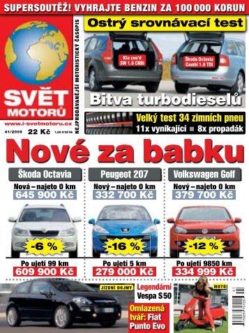 najeto 0 km - Svět Motorů - Auto.cz
