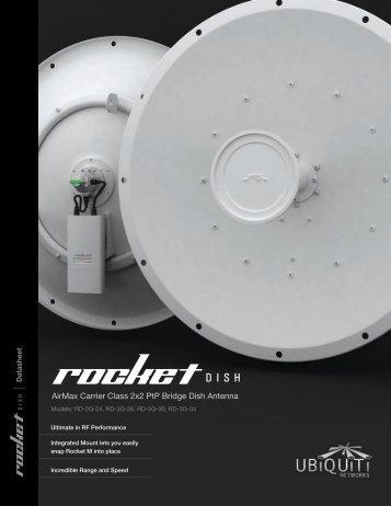 Rocket Dish Datasheet - Ubiquiti Networks