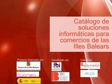 Relación de proveedores - Fundació IBIT