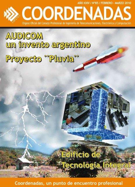AUDICOM un invento argentino Proyecto ¨Pluvia¨ - Copitec
