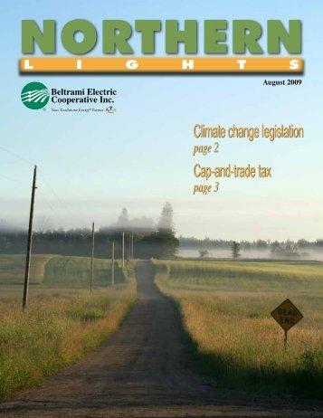Climate change legislation Cap-and-tradetax - Beltrami Electric ...