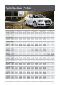 Audi A3 Sportback - Prijslijst - Page 3