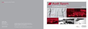 View the Audi Sport Collection of merchandise (4