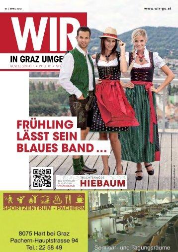 Frühling lässt sein blaues band … - WIR in Graz Umgebung