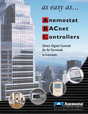 Anemostat BACnet Architecture