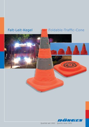 Falt-Leit-Kegel Foldable-Traffic-Cone