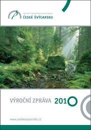 Výroční zpráva 2010 - České Švýcarsko