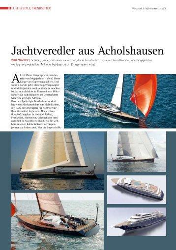 Jachtveredler aus Acholshausen - Deutsche Yachten