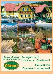 Speisekarte zum Herunterladen (PDF, 3,2MB) - Oldtimer