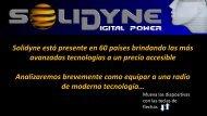 Tutorial sobre las nuevas tecnologias para su Radio - Solidyne