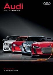 2010 Annual Report, Magazine Part (28 MB) - Audi
