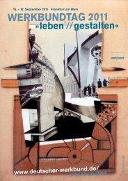 Programm - Deutscher Werkbund