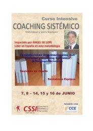 COACHING SISTÉMICO Individual y para equipos