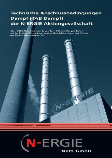 TAB Dampf - N-ERGIE Aktiengesellschaft