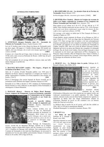 CATALOGUE 1209.pub - Librairie Bertran