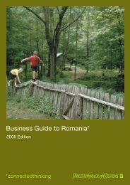 Business Guide to Romania* - Bayern - Europa