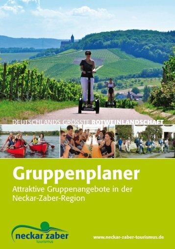 Wir freuen uns auf Sie! - Neckar-Zaber-Tourismus eV