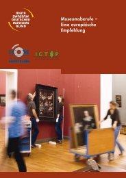 Museumsberufe – Eine europäische Empfehlung - ICOM Deutschland