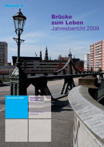 Jahresbericht 2009.indd - Stadtmission Zwickau e.V.