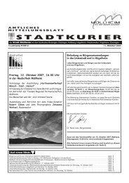 Freitag, 12. Oktober 2007, 16.00 Uhr in der ... - Stadt Müllheim