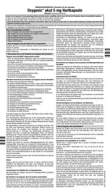 akut 5 mg Hartkapseln - Mundipharma