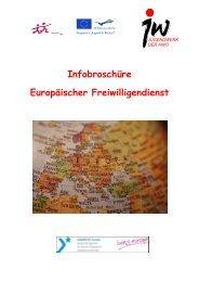 Infobroschüre Europäischer Freiwilligendienst - Jugendwerk