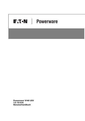 Eaton 9130 USV 700-3000 VA Benutzerhandbuch - multimatic