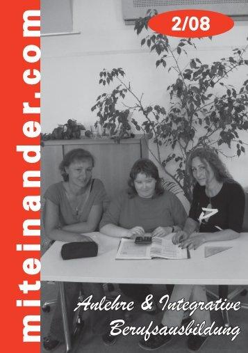 Anlehre/Integrative Berufsausbildung - Miteinander