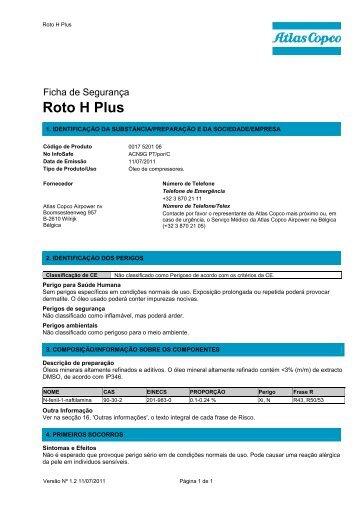Roto H Plus - Atlas Copco