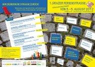 1.Grazer Ferienstrasse von 3.–5. auGust 2012