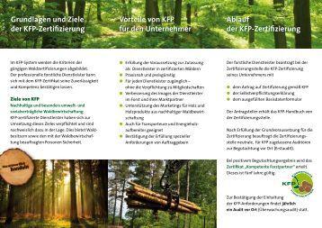 Grundlagen und Ziele der KFP-Zertifizierung Vorteile von ... - HW-Zert