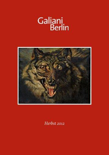 Herbst 2012 - Galiani Verlag Berlin