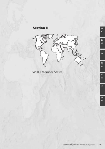 WHO Member States Section II - World Health Organization
