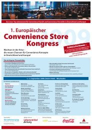 2009 1. Europäischer - The Conference Group GmbH