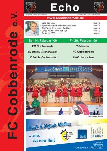 Karger Cup 2009 - FC Cobbenrode 1926 eV