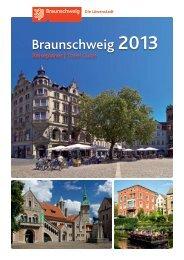 Braunschweig Stadtmarketing GmbH - Reiseplaner 2013