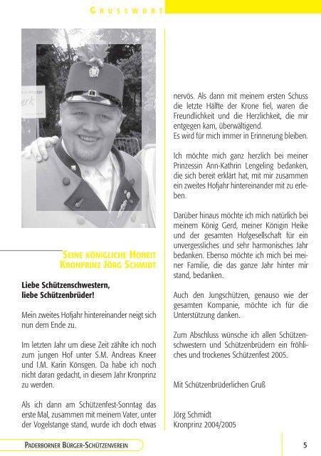 CHRONIK TERMINE TREFFS RÜCKBLICK INFOS - Western ...