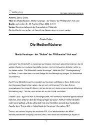 Die Medienflüsterer - Mediaculture online