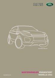musterhändler präsentiert modelle 2011 - Autohaus Weitmann