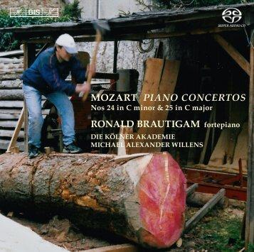 MOZART PIANO CONCERTOS RONALD BRAUTIGAM ... - eClassical