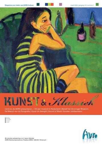 Ledenmagazine Kunst & Klassiek maart 2010. - Het Betere Tekstwerk