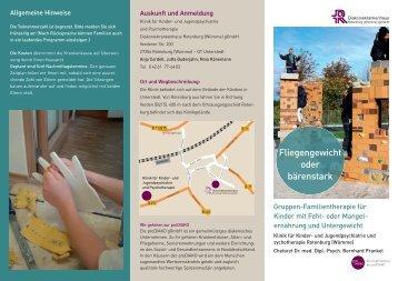 Fliegengewicht oder bärenstark - Diakoniekrankenhaus Rotenburg ...
