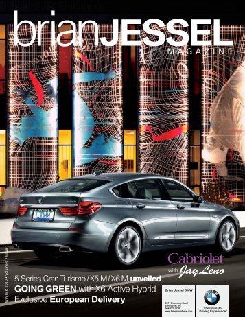 Cabriolet - Brian Jessel BMW