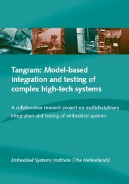 Tangram: Model-based integration and testing of complex
