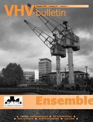 VHV-bulletin - Forum Vereniging voor Volkshuisvesting - TU Delft