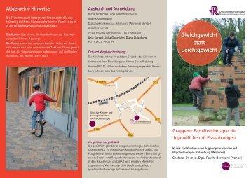 Informationen über Essstörungen - Diakoniekrankenhaus ...